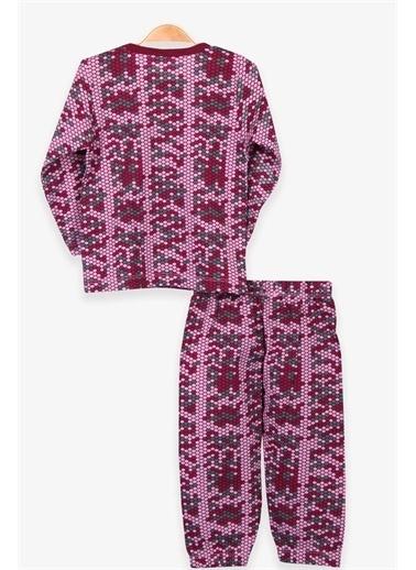 Breeze Kız Bebek Pijama Takımı Petek Desenli Karışık Renk  Renkli